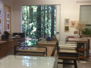 studio open door